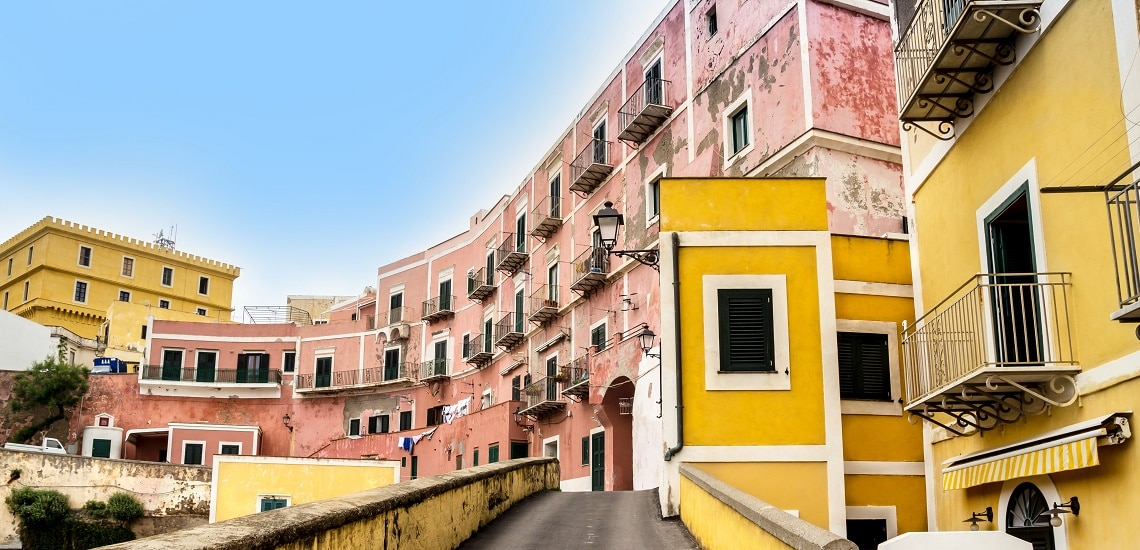 Appartamenti a Ventotene